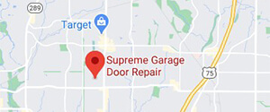 Supreme Garage Door Repair Google Map
