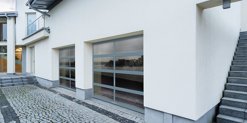 Modern Garage Doors With Windows Are The Most Reliable - Supreme Garage Door Repair