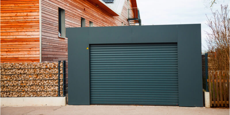 Modern Black Garage Doors - Supreme Garage Door Repair