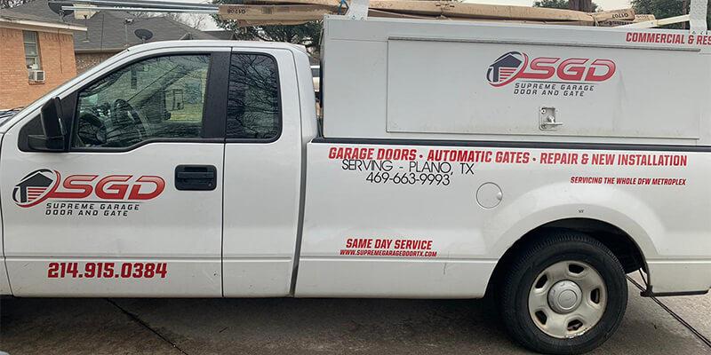 Plano Garage Door Repair – Supreme Garage Door