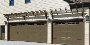 Industrial Garage Door Makeover