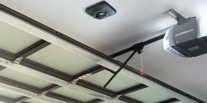 Working Of A Garage Door Opener Belt Drive System